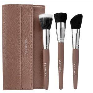 🔜Sephora Flatter Yourself Contour Brush Set